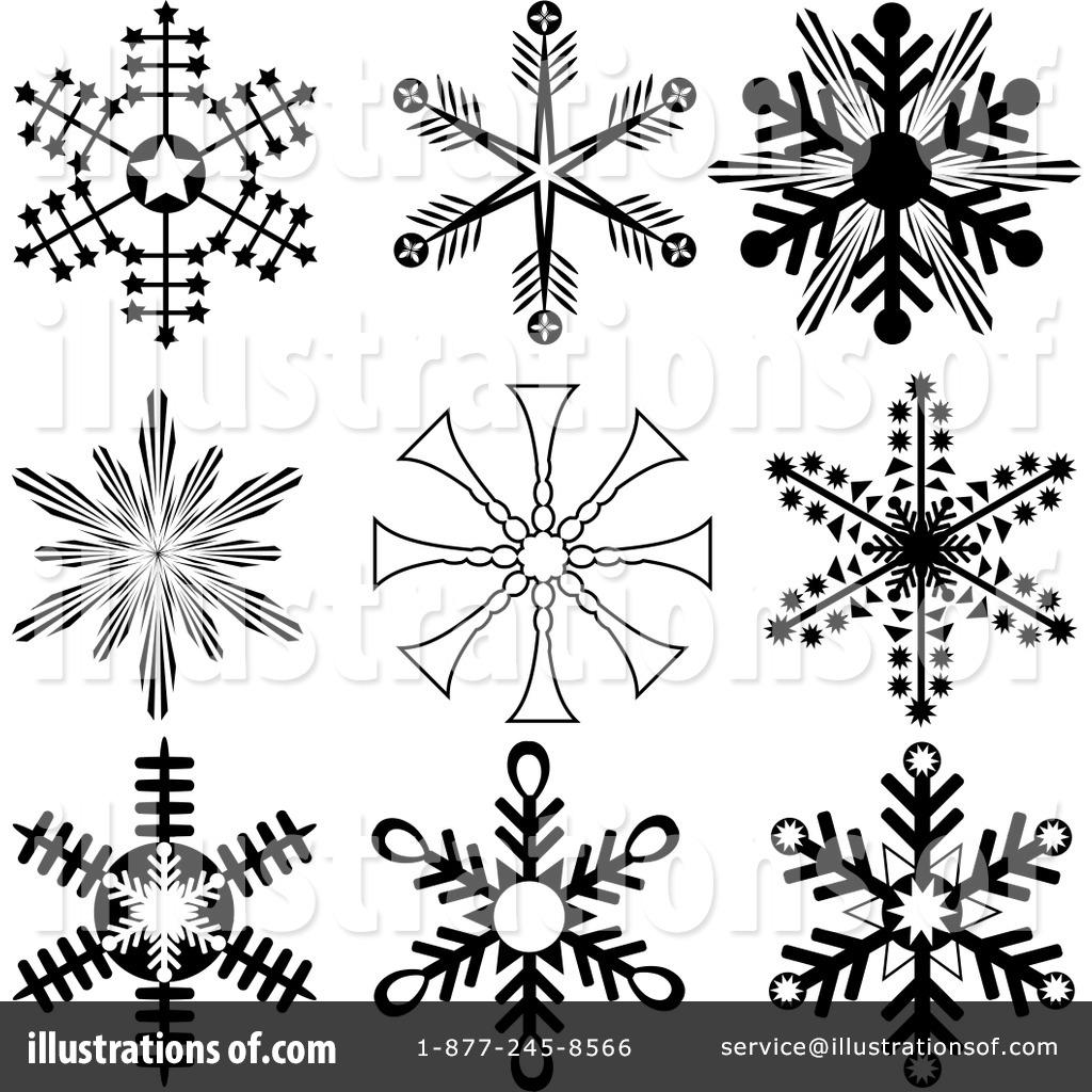 Snowflakes Clipart