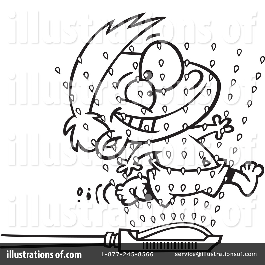 Sprinkler Colouring Pages Sketch Coloring Page