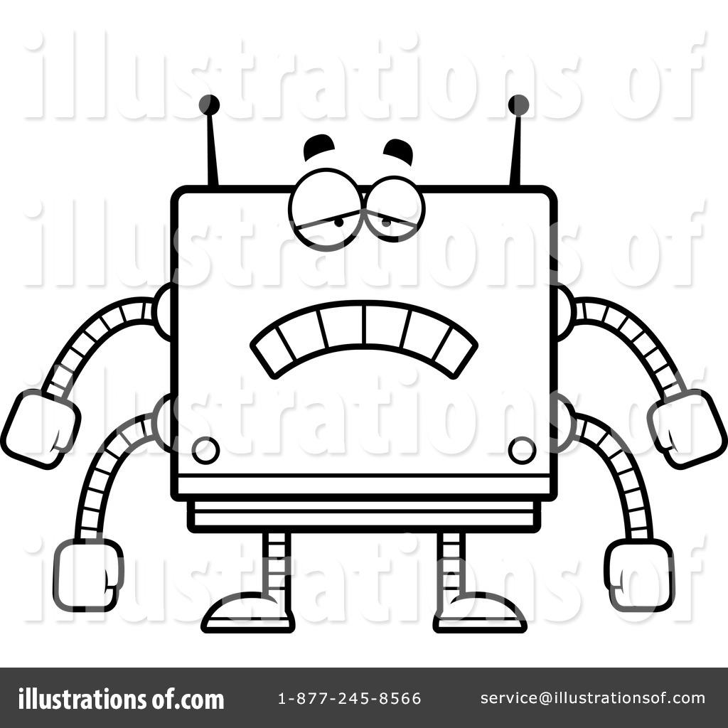 Square Robot Clipart