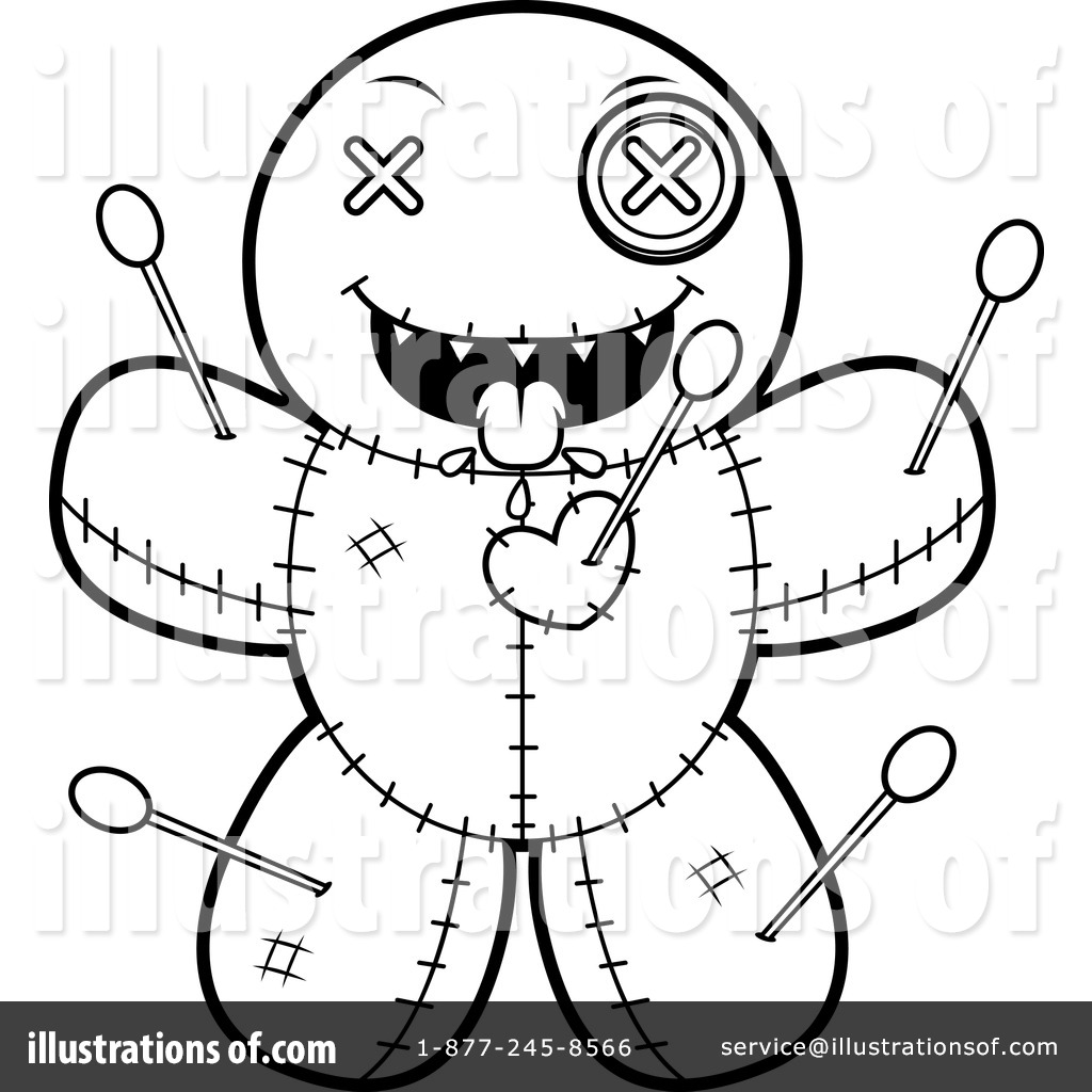 Voodoo Doll Clipart