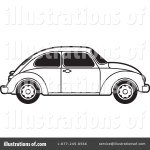 Vw Bug Clipart 1199150 Illustration By Lal Perera