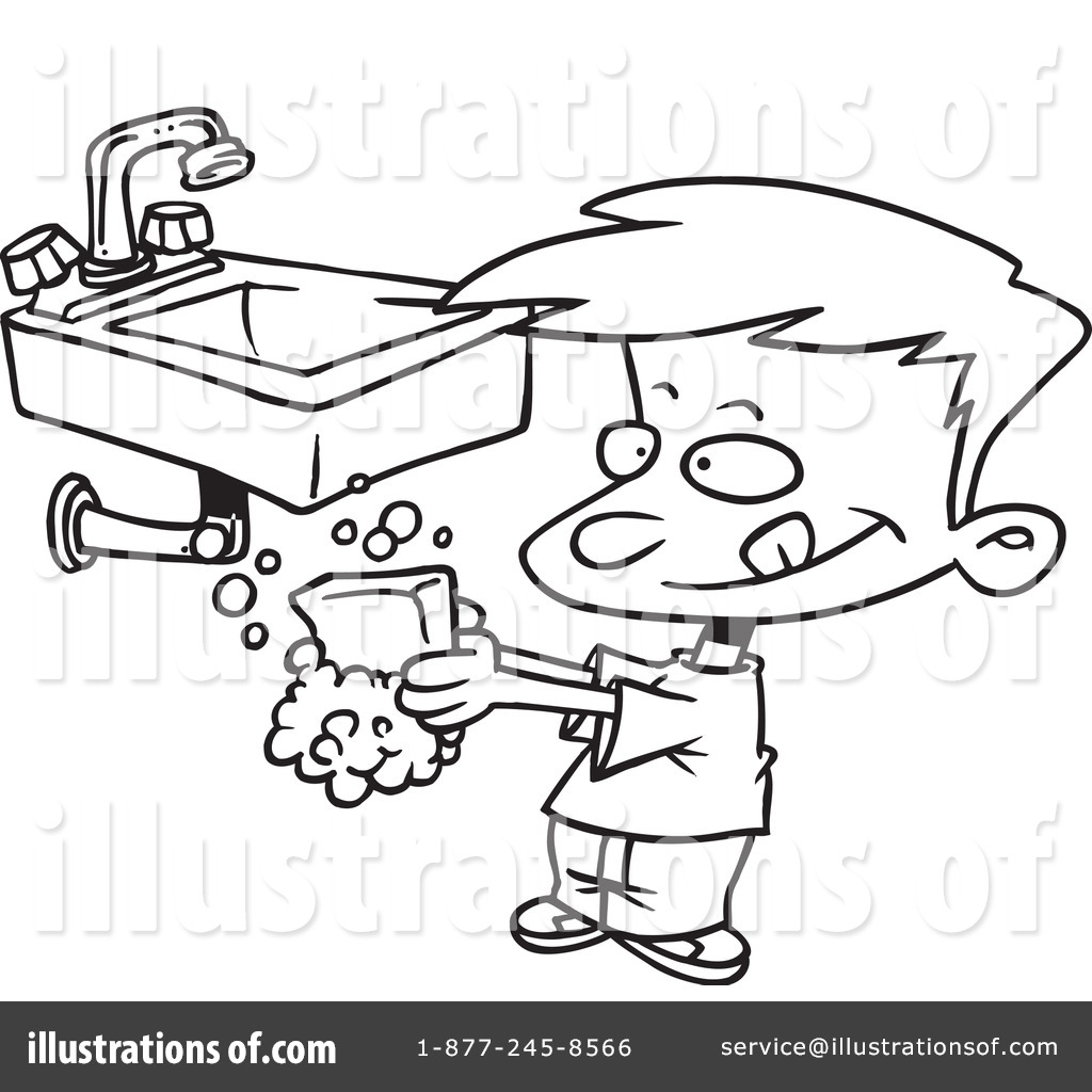 Mouth Wash Coloring Page Coloring Pages