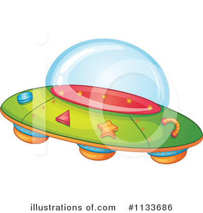 Ufo Clipart 1133686 Illustration by Graphics RF