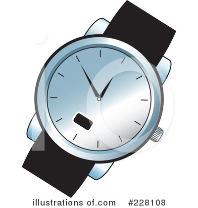 Watches Clipart #228108 - Illustration by Lal Perera