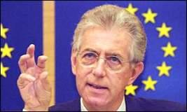 Lo stipendio di Mario Monti.