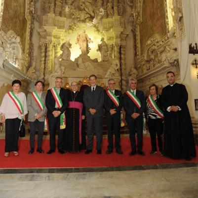"""Riaperta la Chiesa Madre di Partanna, Musumeci: """"Simbolo della rinascita della Valle"""""""