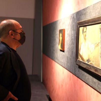 Carlo Verdone visita il museo regionale di Messina