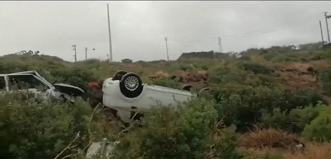 Pantelleria, dopo la tromba d'aria ora si contano i danni