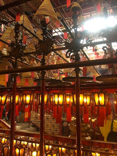 Hong Kong tempio di Man mo
