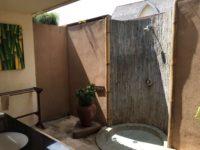 Il bagno in camera a Gili Trawangan
