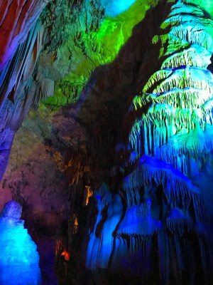 grotta del flauto a Guilin