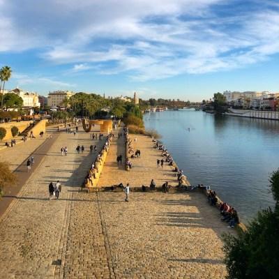 Siviglia - Passeggiata lungo Guadalquivir