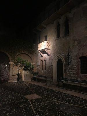 Verona il Balcone di Giulietta