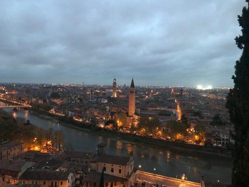 Verona dal castello San Pietro