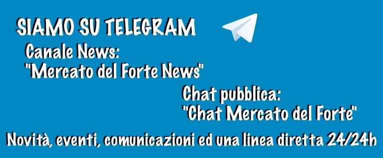 Siamo su Telegram