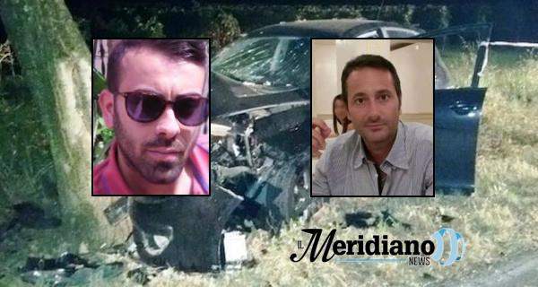 Vairano Patenora, auto finisce in una scarpata: due morti