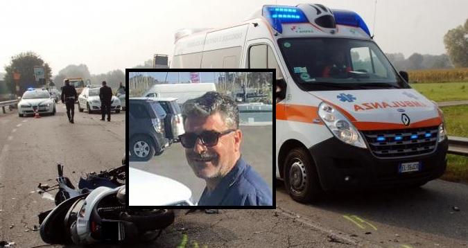 Bacoli: scontro frontale tra auto e moto, morto il centauro quarantottenne