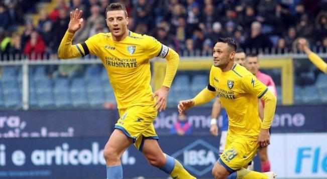 Image result for Sampdoria vs Frosinone photos