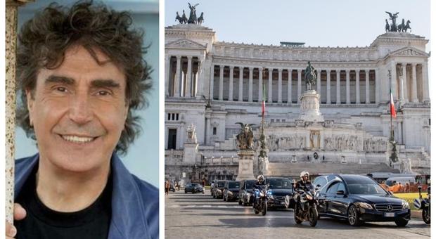 Roma. L'ultimo saluto a Stefano D'Orazio, lo storico batterista dei Pooh