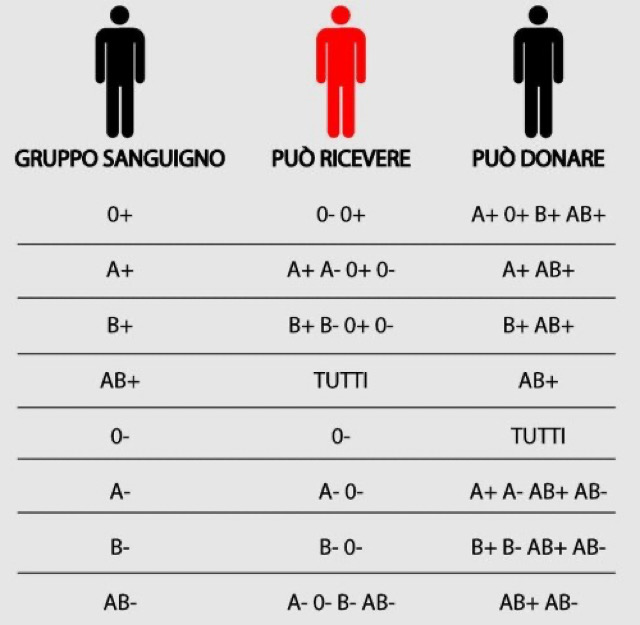 The 4 BLOOD groups