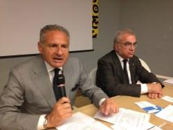Da sinistra Antonio Tuccillo e Bruno Miele