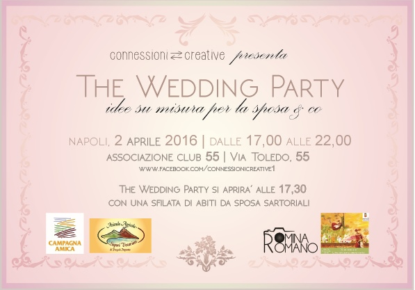 """Marzo donna 2016: Connessioni Creative presenta """"The Wedding"""