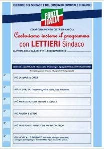 proposte forza italia napoli
