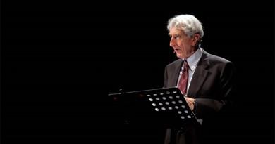 """Corrado Augias in """"O patria mia…Leopardi e l'Italia"""""""