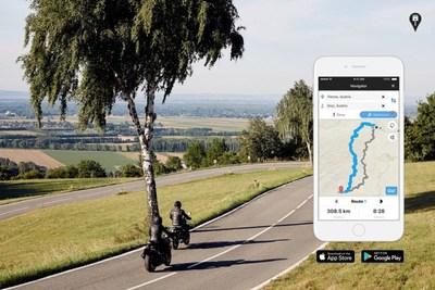RISER PRO: calcolo del percorso intelligente per motociclisti