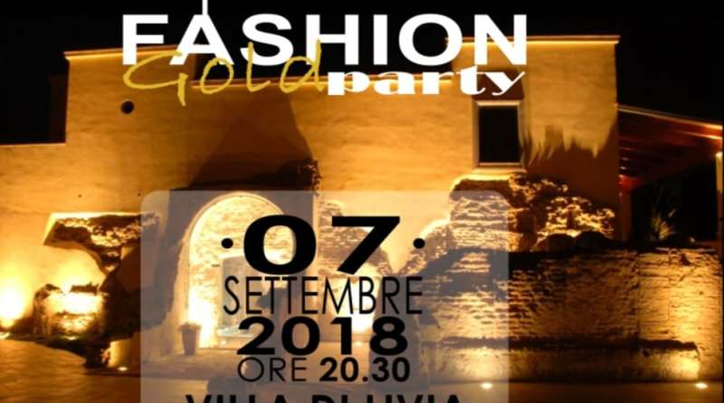 La sesta edizione del Fashion Gold Party