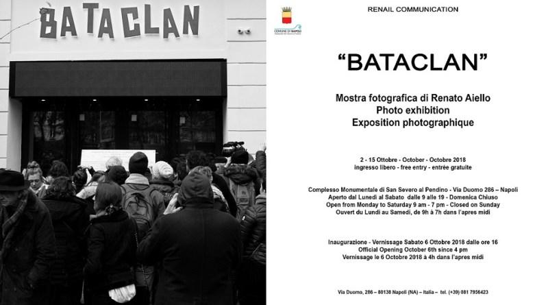 """""""BATACLAN"""", MOSTRA FOTOGRAFICA DI RENATO AIELLO A VIA DUOMO"""