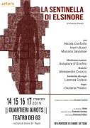 """""""La Sentinella di Elsinore"""" al Teatro dei 63"""