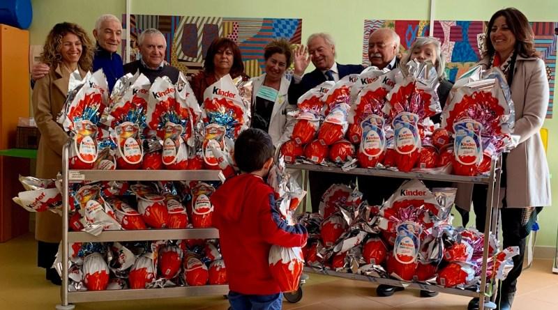 ANRC_donazione di Pasqua ai piccoli ammalati dagli imprenditori della nautica