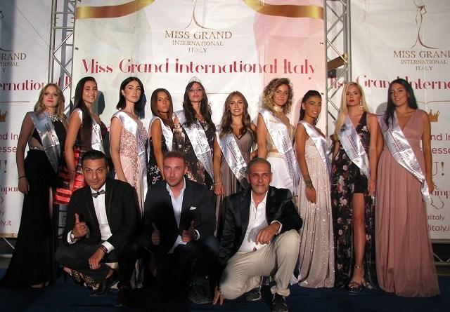Miss GRAND INTERNATIONAL, PRIMA FINALISTA NAZIONALE LA NAPOLETANA DI POMPEI MIREA SORRENTINO