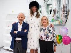 Enrico Rubinacci ha festeggiato 100 anni di attività con Lady Meret