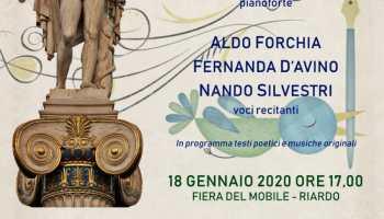 Riardo, Visioni Arte&Design, alla Fiera del Mobile sabato 18 dicembre sarà di scena: Musica e Poesia-Sulle ali dell'emozione