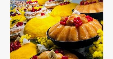 La Mimosa targata Pasticceria Seccia, un trionfo di sapori dalle mignon alle torte per la festa della donna 2020 1
