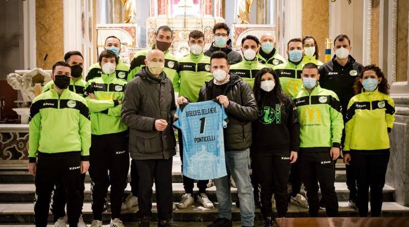 Pallavolo Ponticelli: le nuove maglie dedicate alla Basilica - Santuario di Maria SS. Della Neve