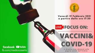 "WEBINAR ""VACCINI & COVID 19"""