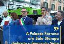 Castellammare, A Palazzo Farnese una Sala Stampa dedicata a Giancarlo Siani