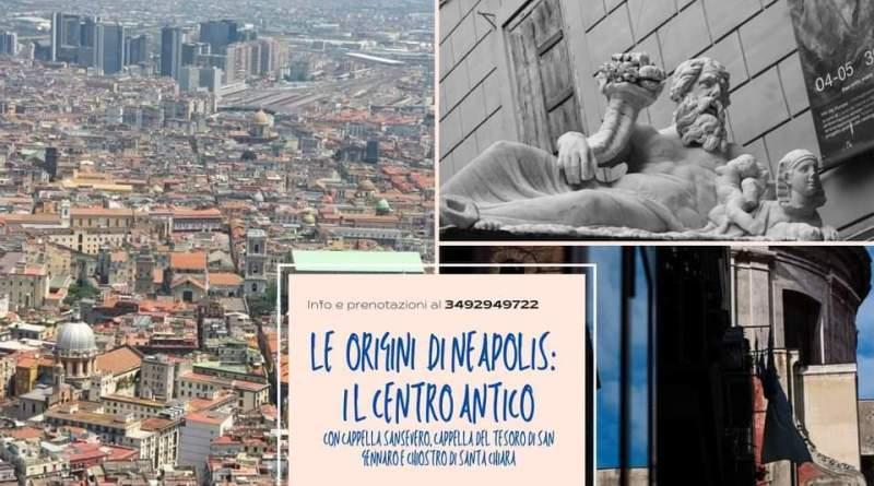 Le origini di Neapolis: i tre decumani e Cappella Sansevero