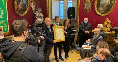 Il Presidente dell'ACI Campania, Antonio Coppola, Cittadino onorario di Mercogliano