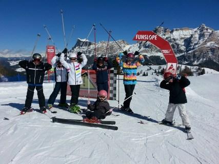 Bambini allievi - Maestro di sci in Alta Badia