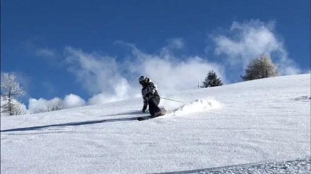 Maestri di sci Alta Badia Telemark freeride - Copia