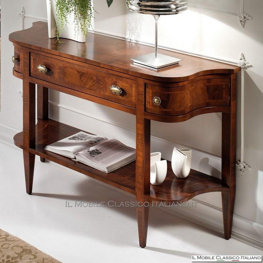 Ideale per completare l'arredamento di bagni classici o camere da letto. Consolle Ingresso Classica Consolle Ingresso Mobili Classici