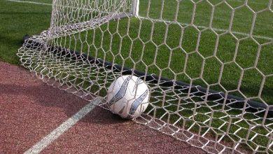 calcio: pallone in goal