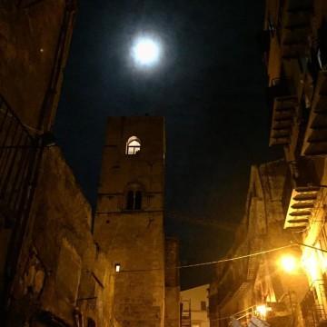 torre di san nicolo notte