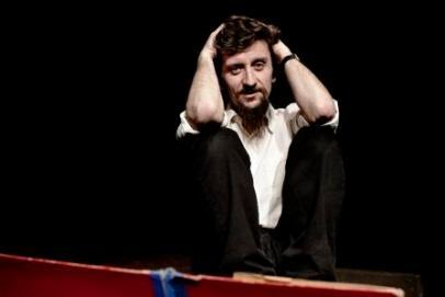 """Ascanio Celestini, spettacolo """" Appunti per un film sulla lotta di classe """" Teatro Ambra Jovinelli  Roma 01 aprile 2007"""