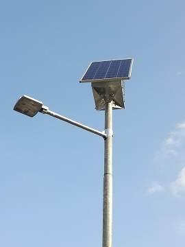 palo fotovoltaico