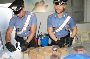 Carabinieri-stupefacenti - Palermo